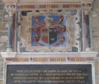 Margaret Dinham, d. of Arthur Harris