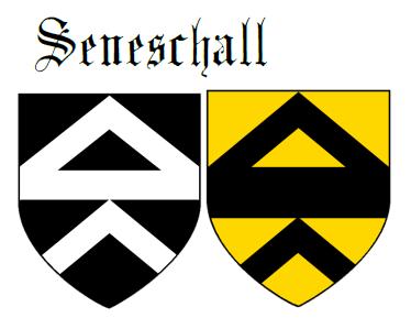 Fess between two chevrons Seneschall