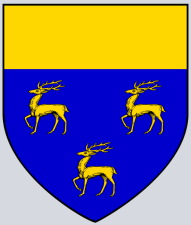 Coat of Arms of Greene of Poulton Lancelyn, sixteenth century