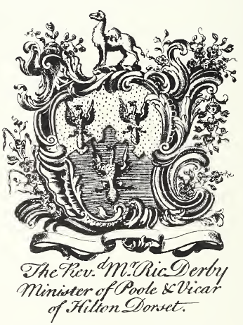 Bookplate of Roger Derby